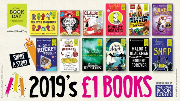 World Book Day 2019 titles