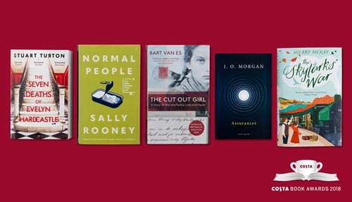 Costa Book Awards category winners 2018